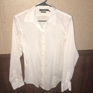 LAUREN Ralph Lauren white button down shirt!